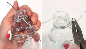 2 cách làm bình hoa đẹp xinh từ lọ thủy tinh cũ 11