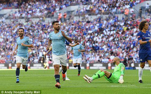 Man City giành Siêu Cúp Anh sau chiến thắng dễ dàng trước Chelsea
