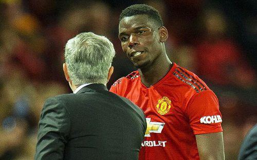 Pogba ngập ngừng hé lộ về quan hệ không mấy tốt đẹp với Mourinho