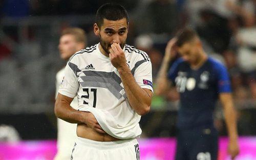 Sao tuyển Đức bị phân biệt chủng tộc trong trận hòa nhà đương kim vô địch thế giới