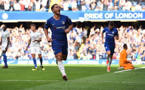Hazard lập hat-trick, Chelsea đánh chiếm ngôi đầu từ tay Liverpool