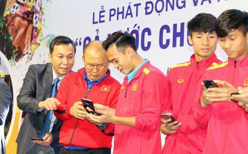 Cầu thủ đội tuyển Việt Nam khiến fan