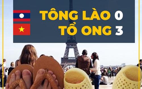 Ảnh chế AFF Cup: Dép tổ ong Việt Nam