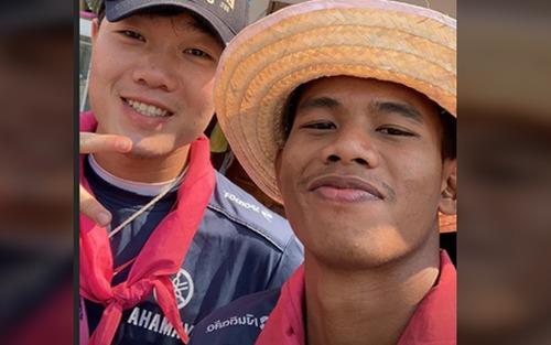 Đến Thái Lan chưa được bao lâu, Xuân Trường đã bắt đầu có một hội bạn thân rồi đấy
