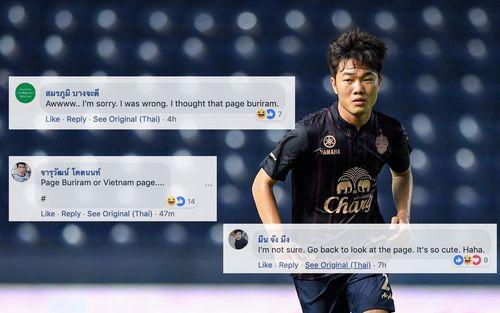 Fan Xuân Trường đổ bộ fanpage Buriram United, fan Thái ngỡ ngàng: