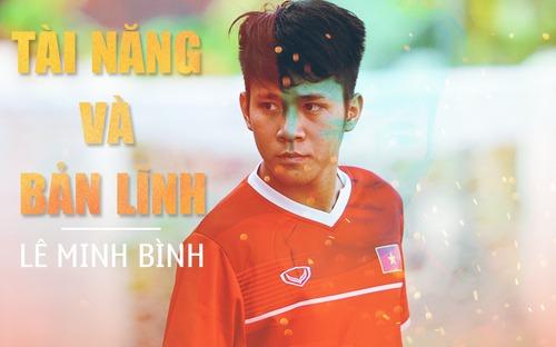 Lê Minh Bình (U22 Việt Nam): Chàng trai đầy nghị lực, vượt qua nỗi sợ chấn thương để tỏa sáng