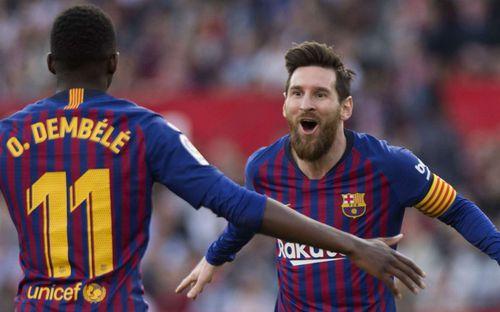 Messi từ tội đồ hóa người hùng, Barca thắng tưng bừng Sevilla 4-2