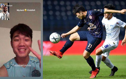 Xuân Trường nhận tình cảm ấm áp từ đồng đội cũ ở Hàn Quốc ngày ra mắt Thai League 1