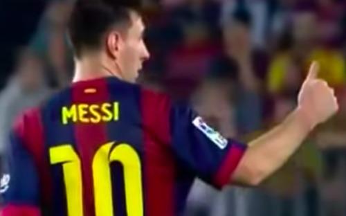 Trước thủ môn Kepa, Messi cũng từng chống lệnh thầy, không chịu rời sân