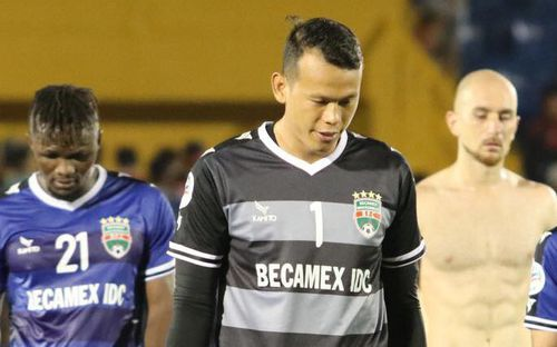 Thủ môn Tấn Trường bị CLB Bình Dương cấm thi đấu đến hết lượt đi V.League 2019