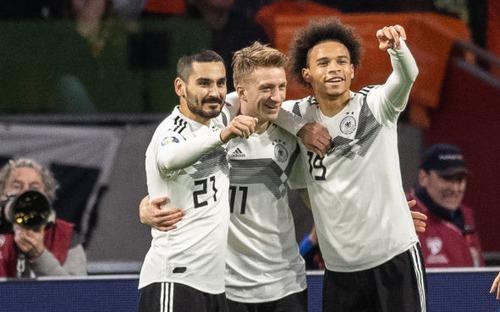 Tuyển Đức thắng kịch tính Hà Lan 3-2 ở trận ra quân vòng loại Euro 2020