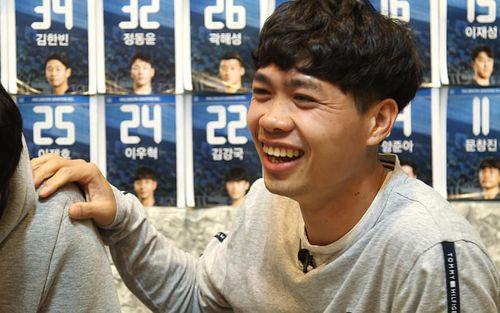 Đài truyền hình Hàn Quốc KBS làm phóng sự riêng cực chất về Công Phượng