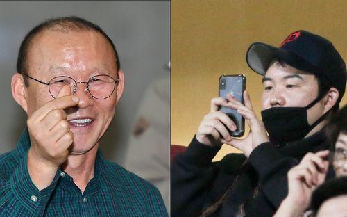 Con trai HLV Park Hang-seo sang Việt Nam và tiết lộ những áp lực