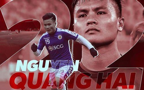 Quang Hải được Liên đoàn bóng đá châu Á chúc mừng sinh nhật