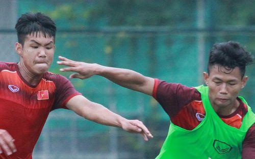 U18 Việt Nam tập luyện máu lửa, chờ ngày ra mắt tại giải giao hữu tại Hong Kong