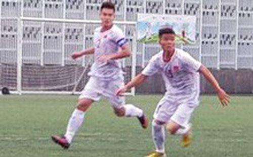 U18 Việt Nam khởi đầu thuận lợi tại giải giao hữu U18 Quốc tế