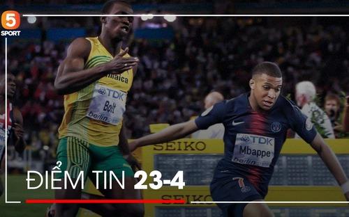 Điểm tin thể thao: Sao trẻ hay nhất thế giới đạt tốc độ cao hơn cả người đàn ông nhanh nhất hành tinh