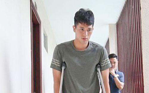 Đình Trọng đang rất buồn và suy sụp vì chấn thương nghiêm trọng hơn dự kiến