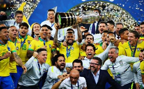 Thắng thuyết phục hiện tượng Peru, tuyển Brazil đăng quang vô địch Cúp Nam Mỹ 2019
