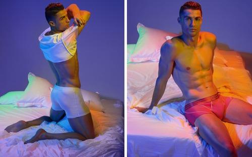 Hội mê trai đẹp chú ý: Ronaldo vừa tung ra bộ ảnh cực chất, khoe trọn cơ bụng 6 múi cùng body