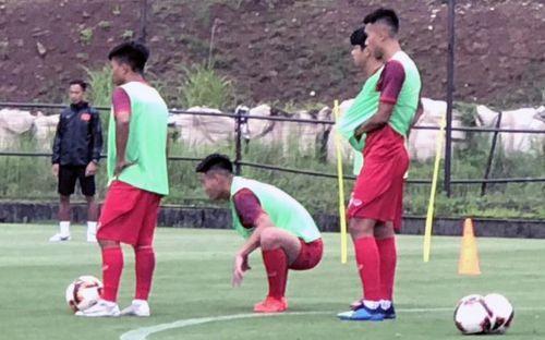 ĐT U18 Việt Nam tập trung cao độ ngay buổi đầu tập luyện tại Gotemba (Nhật Bản)