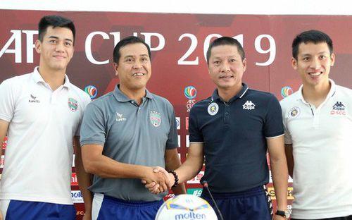Hà Nội FC chỉ mong một trận hòa khi chạm trán Bình Dương ở trận cầu lịch sử tại Cúp Châu Á