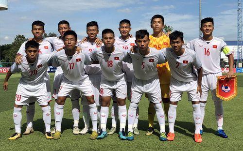 U15 Việt Nam ghi bàn kịch tính ở phút 90, thắng trận thứ hai liên tiếp tại Giải U15 Đông Nam Á 2019