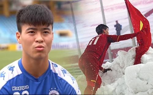 Duy Mạnh nhắc lại kỷ niệm đẹp tại giải U23 Châu Á ở Thường Châu trước trận đấu quan trọng tại AFC Cup 2019
