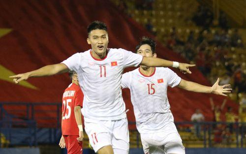 U18 Việt Nam thắng tưng bừng, sẵn sàng đọ sức với Thái Lan tại giải U18 Đông Nam Á