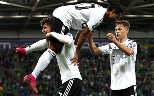 Vòng loại Euro 2020: Tuyển Đức lấy lại danh dự sau thất bại muối mặt, Hà Lan tiếp tục tạo lốc cuốn phăng đối thủ