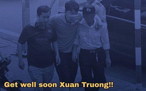 Fan Thái Lan xót xa khi biết tin Xuân Trường chấn thương: