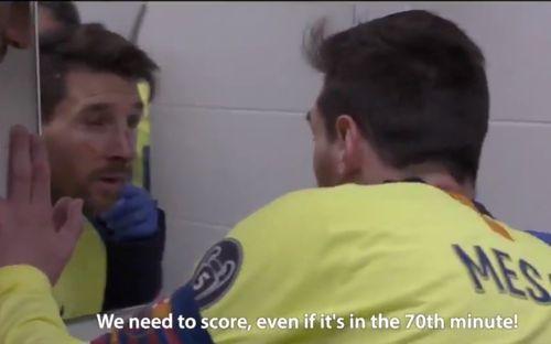 Hé lộ những hình ảnh siêu hot trong phòng thay đồ Barca: Messi bầm dập, đồng đội thất thần sau trận thua không tưởng trước Liveprool