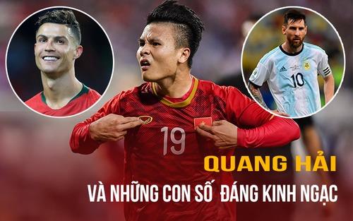 Quang Hải và những thống kê đáng nhớ sau trận đấu với Malaysia:  Ở tuổi 22, Ronaldo và Messi cũng chẳng hay hơn thế