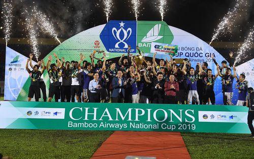 Hà Nội FC và hành trình chinh phục chiếc cúp Quốc Gia đầu tiên trong lịch sử đội bóng, khép lại mùa giải 2019 đại thành công