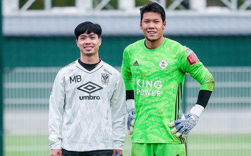 Cận cảnh Công Phượng tiếc nuối vì bị thủ môn tuyển Thái Lan từ chối bàn thắng thứ 2 trên đất Bỉ