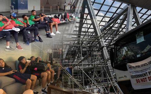 Chủ nhà Philippines và những lần mất điểm ngay trước giờ SEA Games khởi tranh: Tiếp đón thiếu chu đáo, sân đấu chưa hoàn thiện