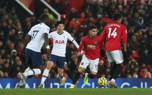 Son Heung-min hoàn toàn vô hại, Tottenham Hotspur đầu hàng trước Man Utd tại Old Trafford