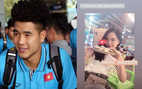 Vừa từ Hàn Quốc về nước, Đức Chinh đã lập tức cùng bạn gái xinh đẹp đi du lịch Phú Quốc