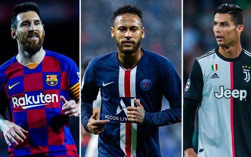 10 ngôi sao bóng đá hưởng lương cao nhất châu Âu hiện nay