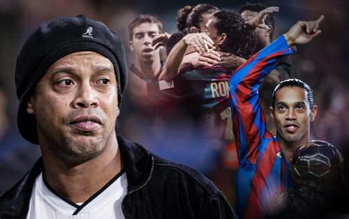 Hoàn cảnh thân tàn, ma dại của Ronaldinho, tượng đài một thời khiến thế giới bóng đá đảo điên