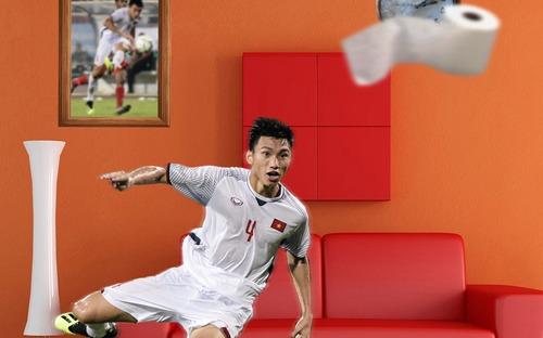 Ngôi sao bóng đá Việt bắt trend kinh điển