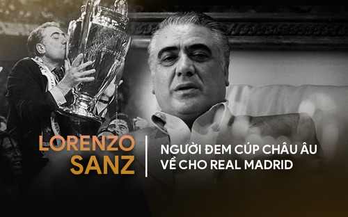 Chân dung Lorenzo Sanz, vị cựu chủ tịch yêu Real bằng cả trái tim nhưng bị đối xử thiếu công bằng, đến chết vẫn còn uất ức