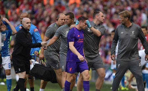 Sao Liverpool phải khâu 15 mũi lên mặt chỉ vì 1 trận giao hữu