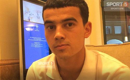 Cầu thủ Uzbekistan: