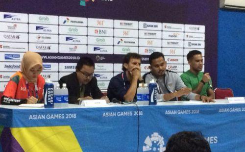 NHM Indonesia tẩy chay HLV Luis Milla sau khi đội nhà bị loại khỏi Asiad