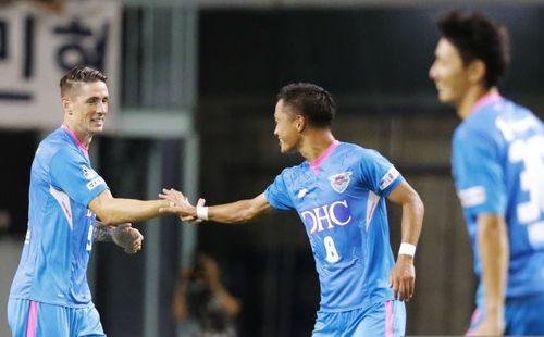 Torres có bàn thắng đầu tay tại J-League sau hơn một tháng