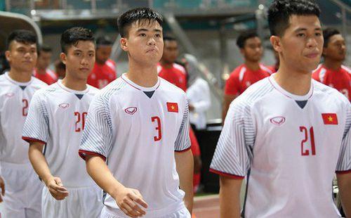 Duy Mạnh - Đình Trọng: Những lá chắn thép của CLB Hà Nội và Olympic Việt Nam