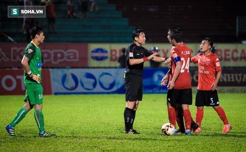 Hy hữu: Trọng tài Việt