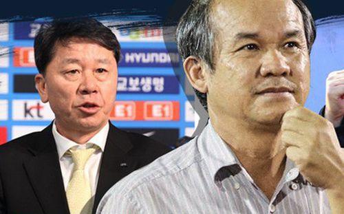 Vì sao ông Chung không thành công như HLV Park Hang Seo?
