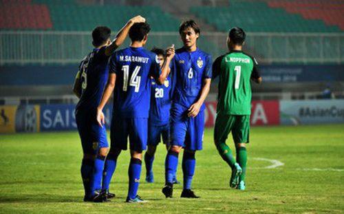 """Gục ngã trước Nhật Bản, Thái Lan bị đẩy vào thế """"ngàn cân treo sợi tóc"""" ở giải châu Á"""